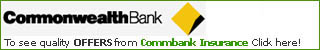 Commbank Car Insurance Logo