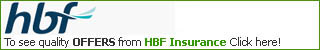 HBF Car Insurance Logo